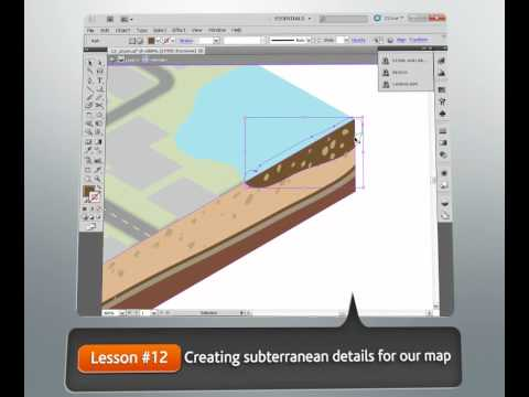 Creating 3D Maps Using Isometric Projection in Illustrator CS5