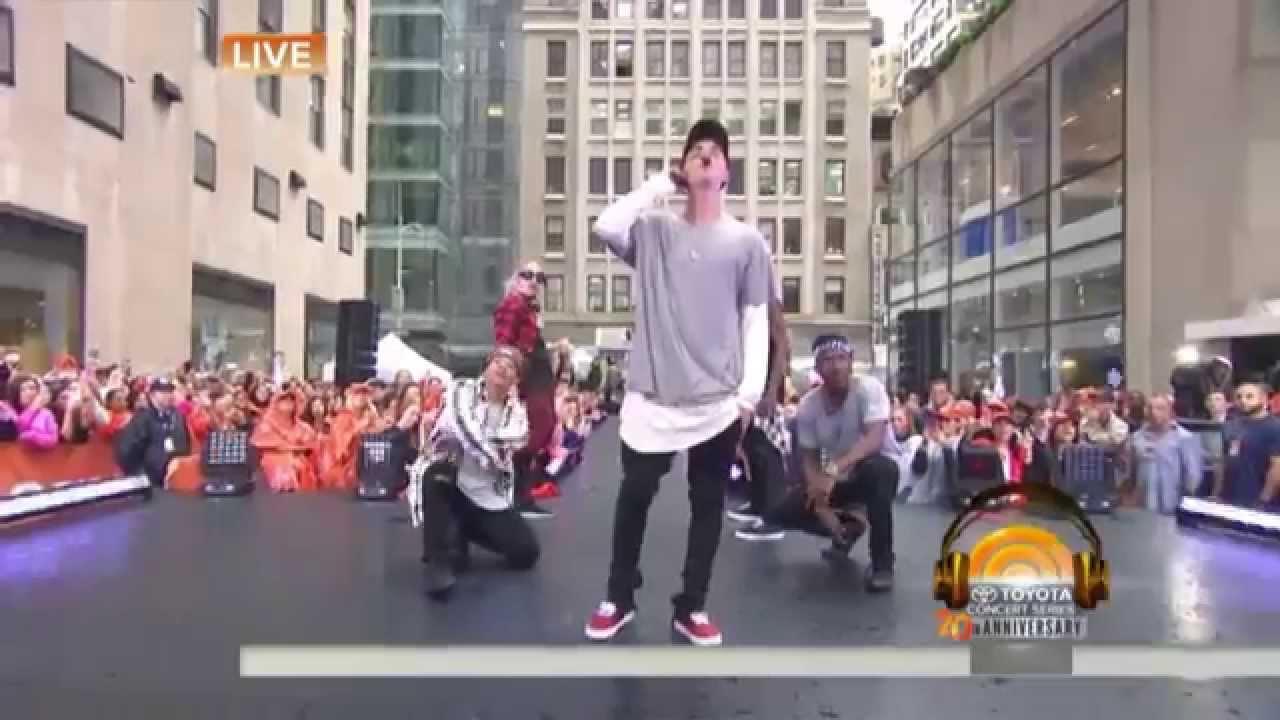 Download Boyfriend - Justin Bieber (Live on Today Show 2015) MP3 Gratis
