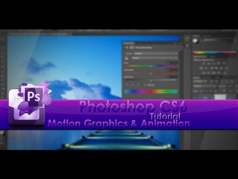 Photoshop Tutorial - Motion Graphics and Animation