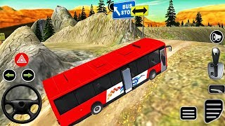 Real Bus Driving - Offroad Bus Drive 3D Simulator - Android GamePlay