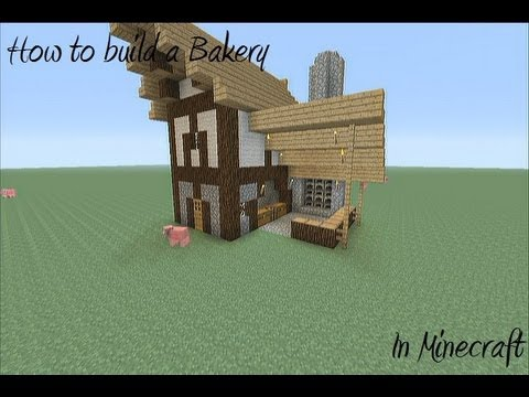 How to build a Medieval Bakery in Minecraft