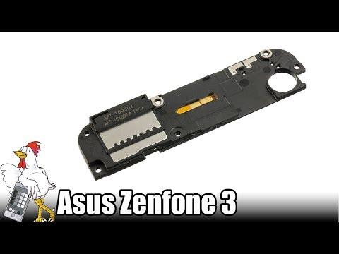 Guía del Asus Zenfone 3: Cambiar módulo de antena con altavoz