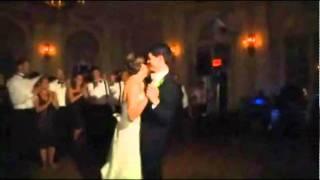 "Groom sings ""The Way You Look Tonight"" to his beautiful bride"