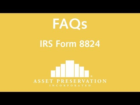 IRS Form 8824: Like-Kind Exchanges | FAQ | Asset Preservation, Inc.