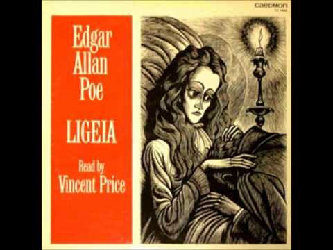 Edgar Allan Poe: Ligeia read by Vincent Price