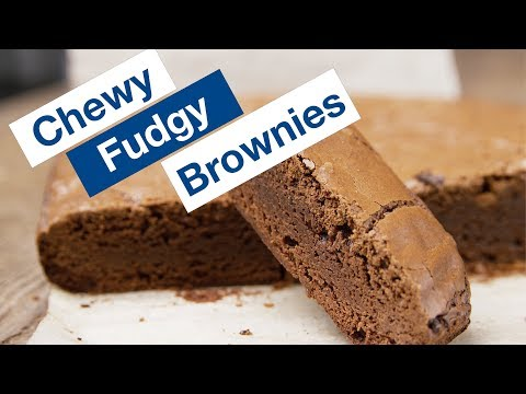 How To Make Chewy Fudgy Brownies Recipe  || Le Gourmet TV Recipes