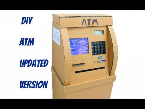 DIY ATM | How to make ATM for Kids |