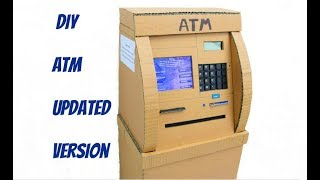 DIY ATM | How to make ATM for Kids |