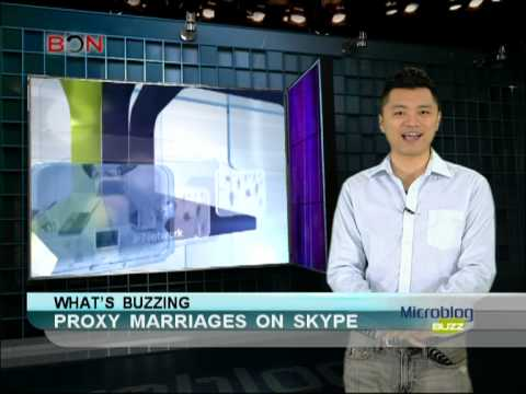 Proxy marriages on Skype - Microblog Buzz - March 12,2013 - BONTV China
