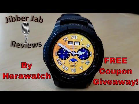 Samsung Gear S3/Gear Sport Herawatch Faces - FREE Coupon Giveaway! - Jibber Jab Reviews!