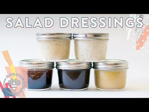 5 DIY Salad Dressings for #BuzyBeez 🐝