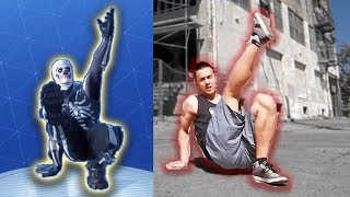 All 35 Fortnite Emotes In Real Life | All Updated Fortnight Dance Irl - Lb 😂