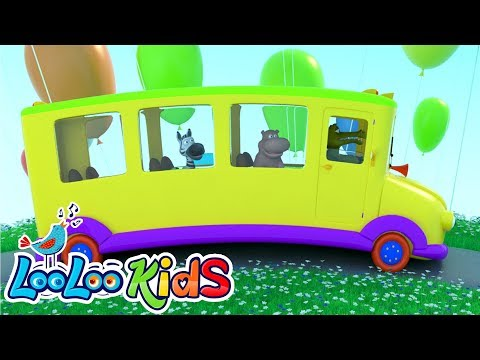 The Wheels On The Bus   THE BEST Songs For Children   LooLoo Kids
