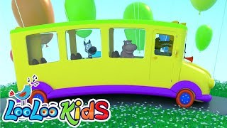 The Wheels On The Bus 🚌 THE BEST Songs for Children | LooLoo Kids