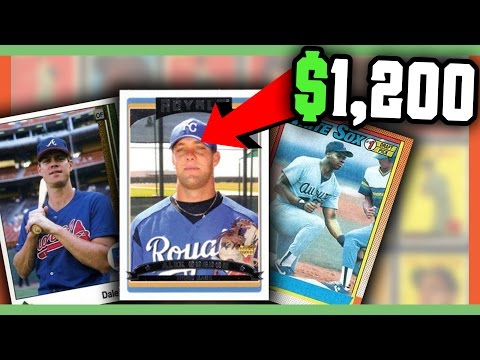 RARE ERROR BASEBALL CARDS WORTH MONEY - VALUABLE CARDS TO LOOK FOR!!