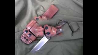 Modular Sheath For Bark River Bravo1 By Ost Leather