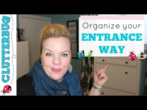 Organizing Tips for your Entrance Way - Organize for your Organizing Style
