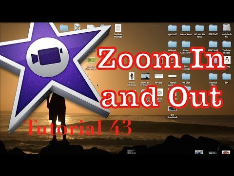 Zoom In and Out Effect (Ken Burns) in iMovie 10.0.3 | Tutorial 43