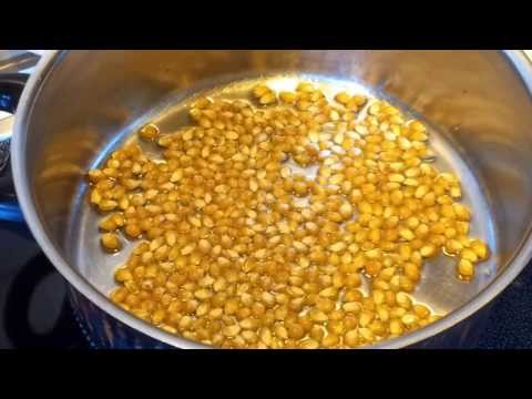 How to Make Popcorn at Home