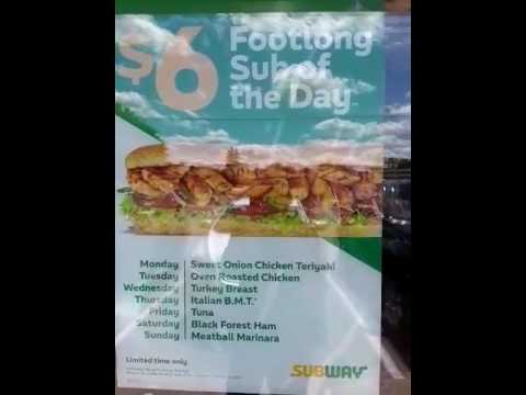 How To Get Free Subway Sandwiches Always