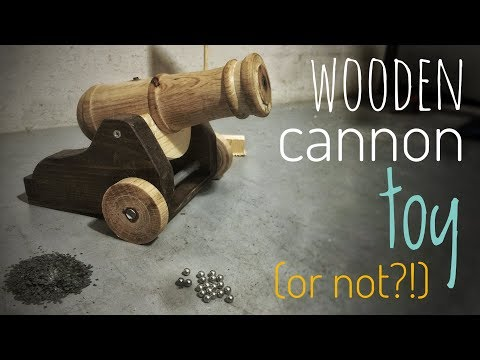 ZepLabs: Mini Wooden Cannon