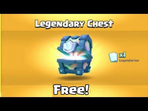 OMG! How to get a FREE legendary chest in Clash Royale! | Best working Method!!!
