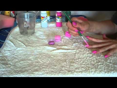 How to make Nail Polish only  2 Ingredients!!