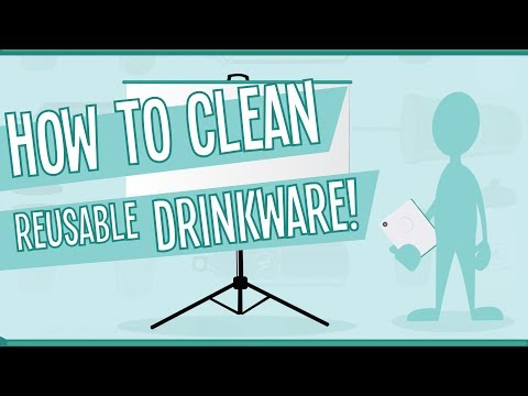 How to Clean Reusable Drinkware
