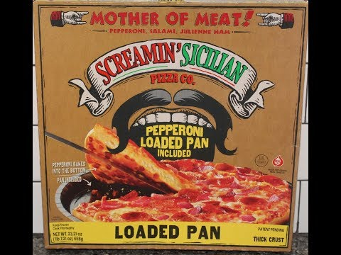 Screamin' Sicilian Pizza Co. Mother of Meat Loaded Pan Pizza Review