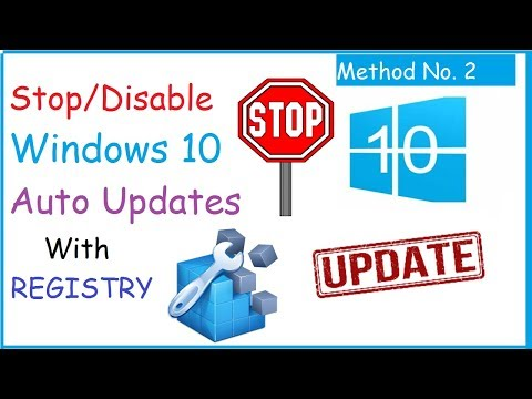 Stop/Disable Windows 10 Automatic Updates Using Registry [Method-2]
