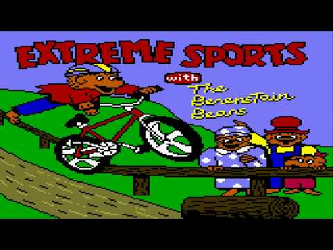 Extreme Sports with The Berenstain Bears Game Boy Color Gameplay