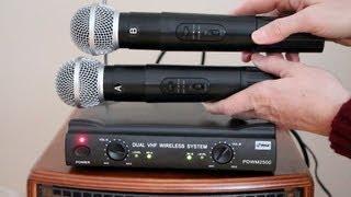 Wireless Mic system  PylePro PDWM2500