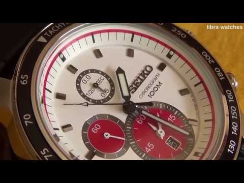 f19ff18f2 SEIKO CHRONOGRAPH 100M CAL. 7T92 - Seiko Black Chronograph 100m