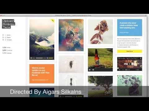 Tumblr Style WordPress Themes For Blogs and Portfolio