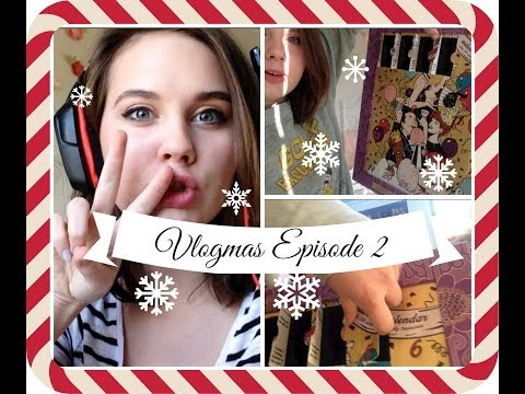 CHRISTMAS CAME EARLY! (Vlogmas #2)
