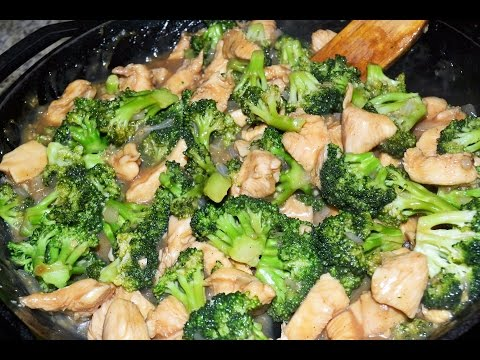 How to make Stir Fried Chicken and Broccoli Recipe   Skillet