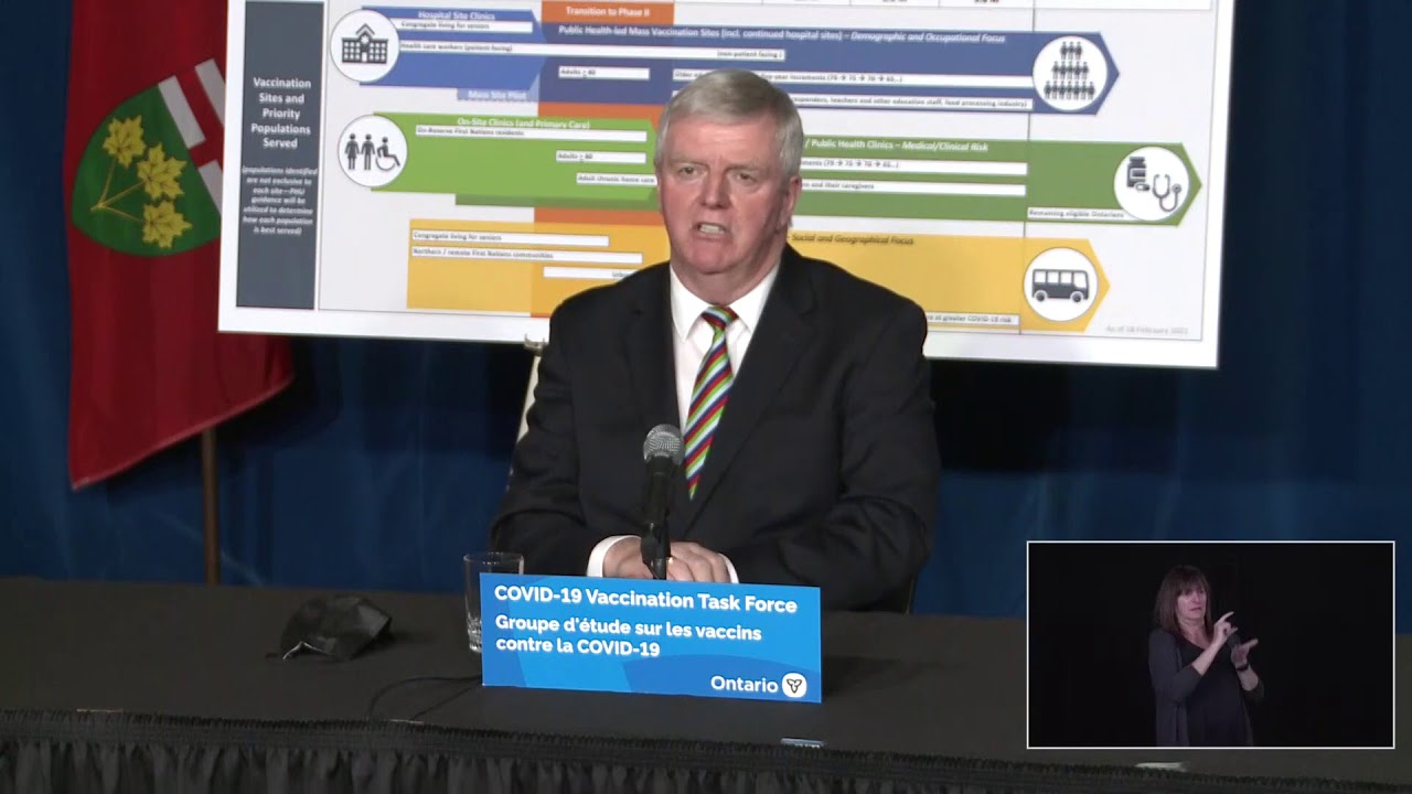 Premier Ford provides an update at Queen's Park   Feb 19