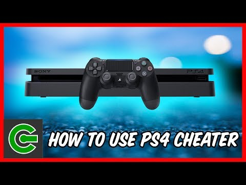 How to run cheat on a jailbroken PS4 Console