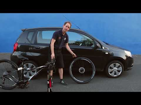 How to fit a bike into your car