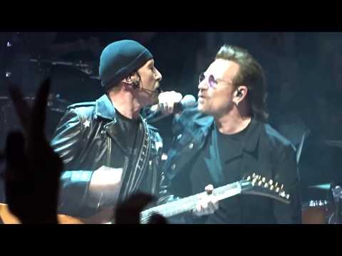 U2 - 2018 - I Will Follow (HD) - Boston 06-21-2018 (Filmed from GA Edge's Side)