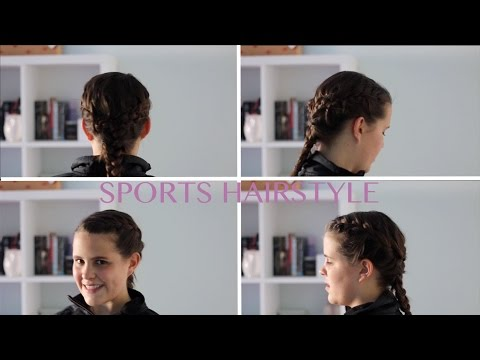 Sports hairstyle!