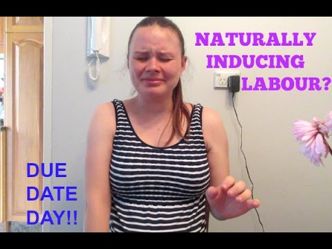 DUE DATE DAY! Naturally Inducing Labour