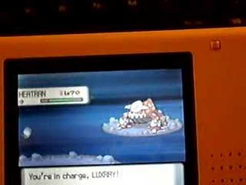 Pokemon Diamond & Pearl heatran