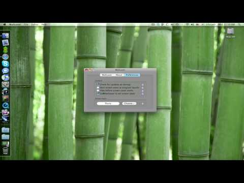 How To Set a Screensaver as a Desktop Background in OS X