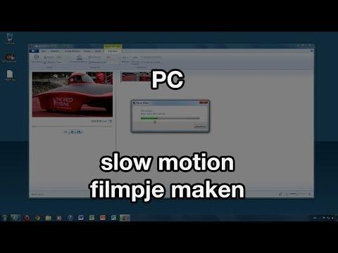 Slow motion filmpje maken (VideoBytes - PC)