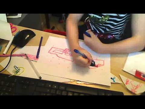 how to draw the enderdragon