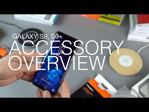 Galaxy S9, S9+ Cases and Accessory Overview