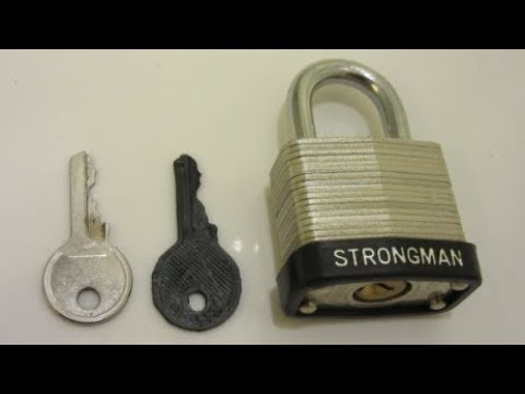 3D Printed Key: Will it Work??