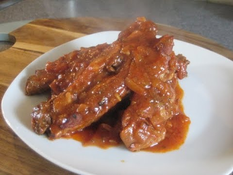 How to make Spare Ribs in a rich Tomato Sauce