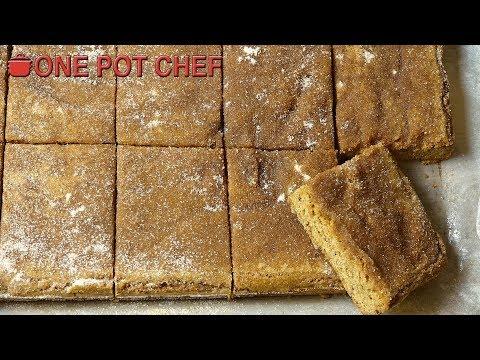 Cinnamon Slice   One Pot Chef